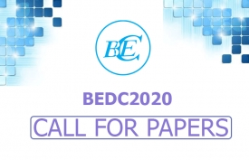 CALL FOR PAPERS FOR BEDC2020